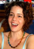 La actriz brasileña Leandra Leal asiste al Congreso Cultura y Desarrollo