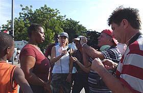 Encomiable labor de enviados especiales del ICRT a Haití