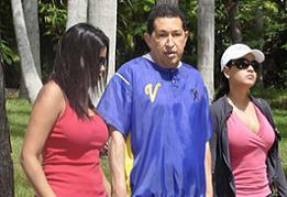 En fotos: Chávez continuó sus ejercicios de rehabilitación en Cuba
