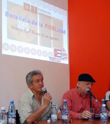 Serenata de la fidelidad, un homenaje a Cuba