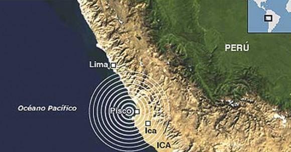 Poderoso sismo de magnitud 6,8 en Peru
