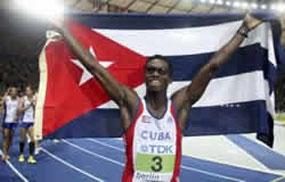Cuba conquista sus primeras medallas en Mundial de atletismo