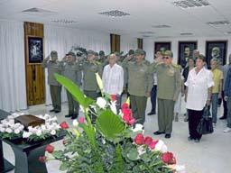 Duelo oficial por la muerte del General de Cuerpo de Ejército Julio Casas Regueiro