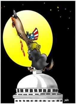 A la Loba Feroz le da igual cualquier estación del año para bombardear a Cuba