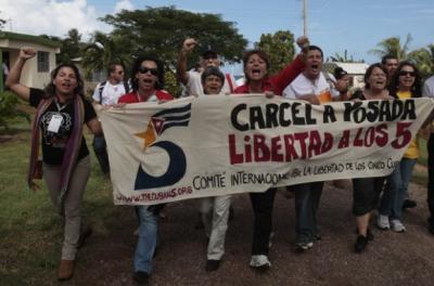 Multitudianaria marcha en Holguín en favor de los Cinco (+Video y fotos)
