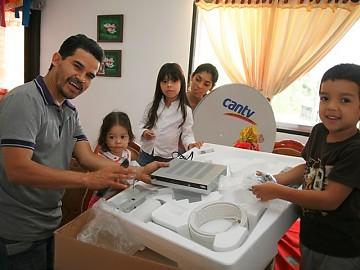 Más de seis mil suscriptores a escala nacional Cantv: Televisión Satelital disponible para el pueblo venezolano