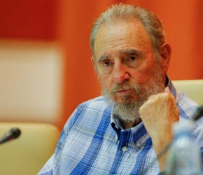 Preside Fidel encuentro con integrantes del Crucero por la Paz