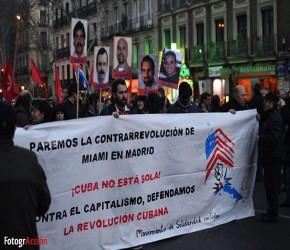 #DerechosdeCuba, en imágenes: la marcha de solidaridad con #Cuba en Madrid (+fotos)