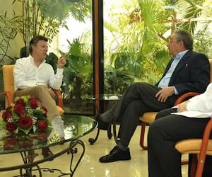 Divulgan fotos del encuentro entre Raúl y Santos (+ Video)