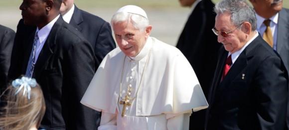 Palabras del Presidente cubano Raúl Castro al ofrecer la bienvenida en Santiago de Cuba a su Santidad Benedicto XVI (+Fotos, Video y Audio)