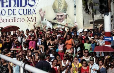 #BenedictoCuba: Destaca vocero de la santa Sede acogida a Benedicto XVI en Santiago de Cuba