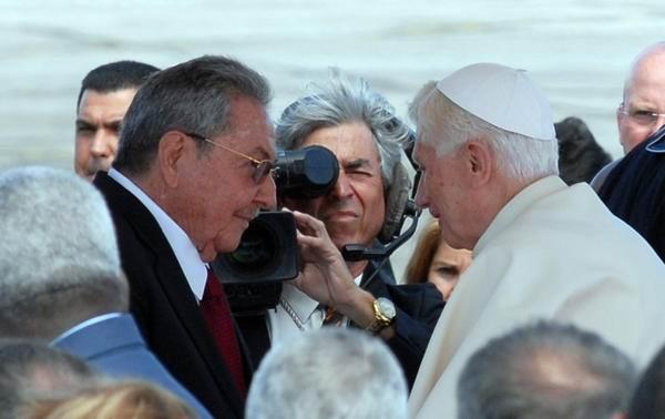 #BenedictoCuba: Dialogará Benedicto XVI con Raúl Castro