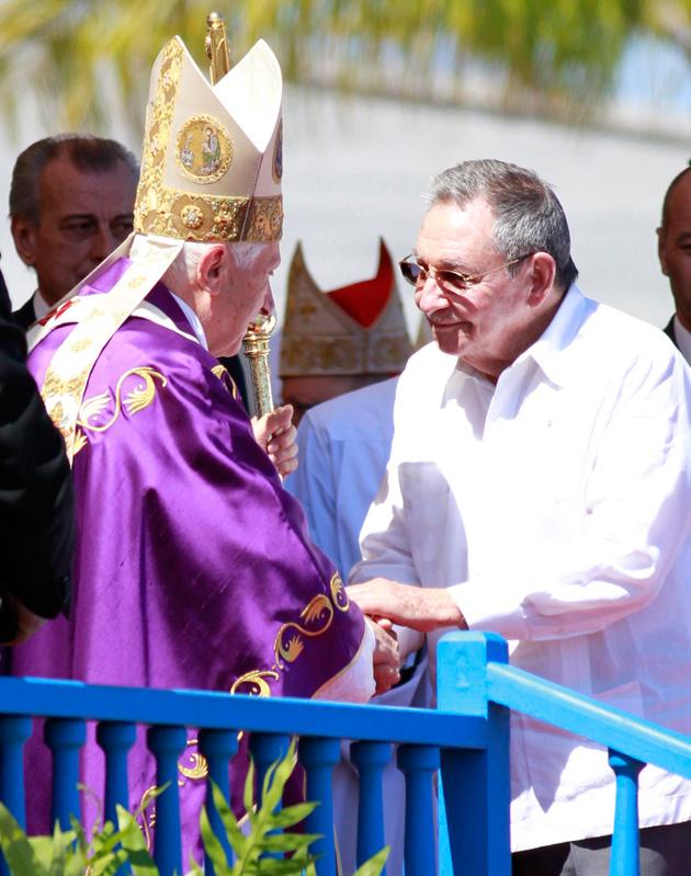 #BenedictoCuba: Multitudinaria misa del Papa Benedicto XVI en la Plaza de la Revolución (+ Fotos)