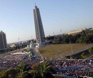 Este 1ro. de Mayo, desde las 7.30 am de mañana, multitudinario desfile en la Plaza de la Revolución