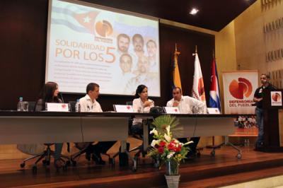 Defensoría del pueblo de Venezuela expresa respaldo solidario con la causa de Los Cinco
