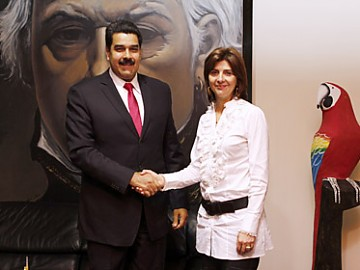 #Venezuela: Maduro ratifica que no permitirán actividades de grupos ilegales en el país