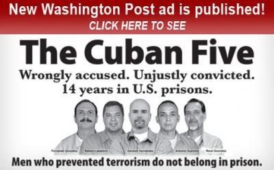 #Cuba #Alarcón: La lucha por los Cinco es de todos