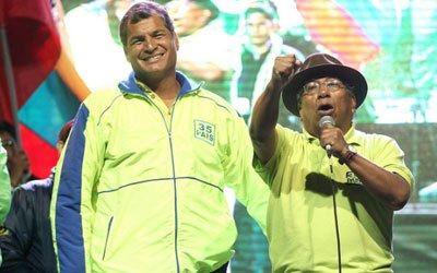 Rafael #Correa califica como un hecho aislado agresión en Quinindé