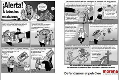 Arranca campaña contra privatización del petróleo mexicano