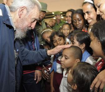 """Inauguró Fidel Complejo Educacional """"Vilma Espín Guillois"""" (+Fotos)"""