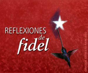 Nueva reflexión de Fidel Castro, titulada La mentira tarifada