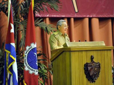 #Cuba Raúl Castro en el XX Congreso de la CTC: Las decisiones fundamentales tienen que ser discutidas con el pueblo y los trabajadores