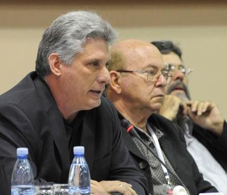 Discurso de Miguel Díaz-Canel, Primer Vicepresidente de #Cuba, en la clausura del VIII Congreso de la UNEAC