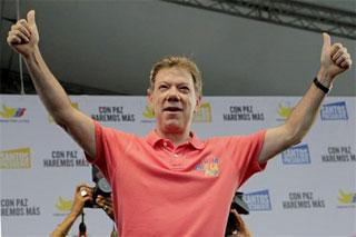 #Colombia: Presidente Santos vence en un segundo mandato por la paz