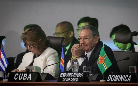 #Cuba #RaúlCastro en la cumbre del G77: Solo la unidad hará prevalecer nuestra amplia mayoría (+ Fotos)