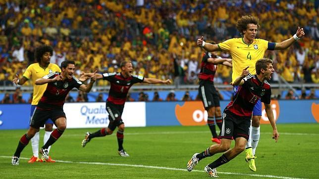 HUMILLACIÓN EN EL MUNDIAL: Alemania destroza la historia de Brasil