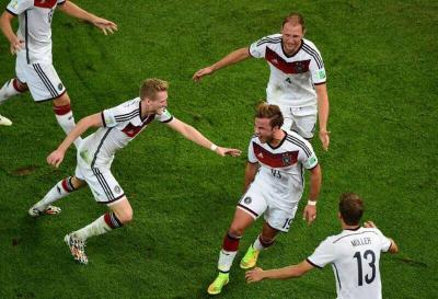 Alemania derrotó a Argentina y ganó Mundial de fútbol
