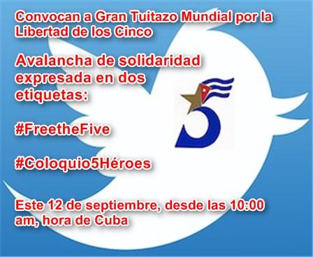 #FreetheFive Comienza hoy en #Cuba X Coloquio Internacional de Solidaridad con los Cinco
