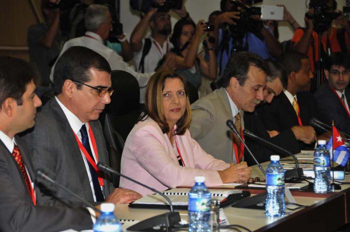#Cuba Comunicado de prensa de la delegación cubana