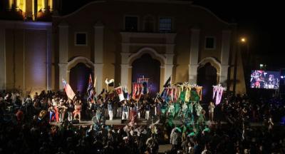 De fiesta Remedios en su medio milenio. Presidió Díaz-Canel la gala artística por los 500 años de la octava villa de #Cuba