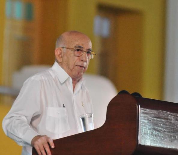 #AUDIO Palabras del vicepresidente cubano Machado Ventura en Acto central por el Día de la Rebeldía Nacional, Santiago de #Cuba