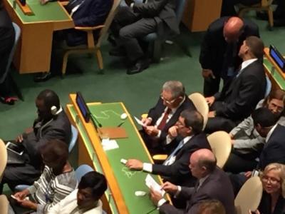 Asistió Raúl Castro al plenario de la ONU