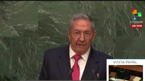 Raúl Castro: Persisten niveles inaceptables de pobreza y desigualdad en el mundo (+Audio y Video)