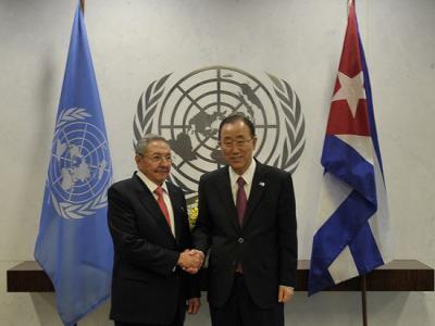 Raúl en la ONU: #Cuba cumplió los Objetivos de Desarrollo del Milenio y brindó su cooperación a otros países