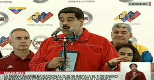 Presidente @NicolasMaduro destaca jornada electoral pacífica en Venezuela