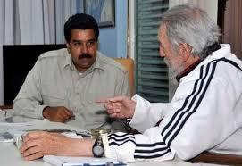#Cuba Mensaje de Fidel al Presidente Nicolás Maduro