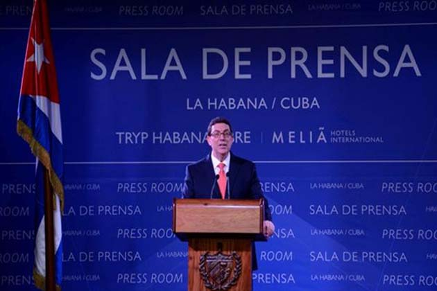 Cuba seguirá apostando por su soberanía, afirmó Bruno Rodríguez (+Audio)