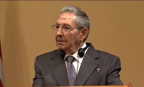#Cuba Insiste Raúl en fin de bloqueo para normalizar nexos con EE.UU.