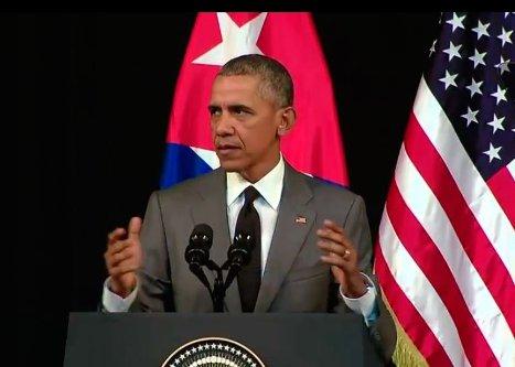 Reitera Obama que el embargo -bloqueo- es una carga obsoleta sobre el pueblo de #Cuba
