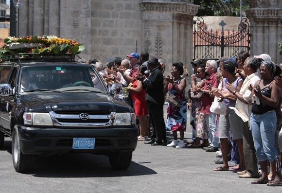 Entierro de Teófilo Stevenson Foto: Ismael Francisco/Cubadebate