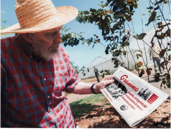 Fidel Castro. Foto: Alex Castro