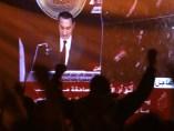Mubarak deja el poder