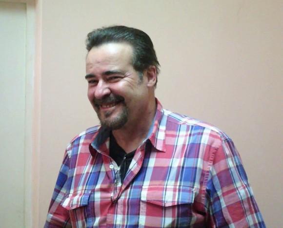 César Évora en el Isa