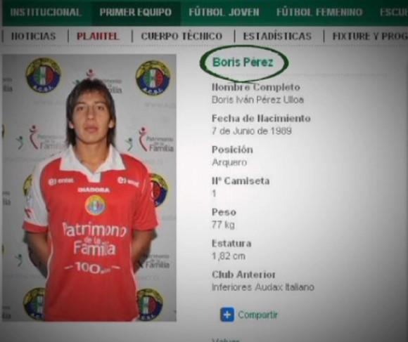 Boris Iván, futbolista bolivianos, en la lista de víctimas de los derechos humanos en Cuba.
