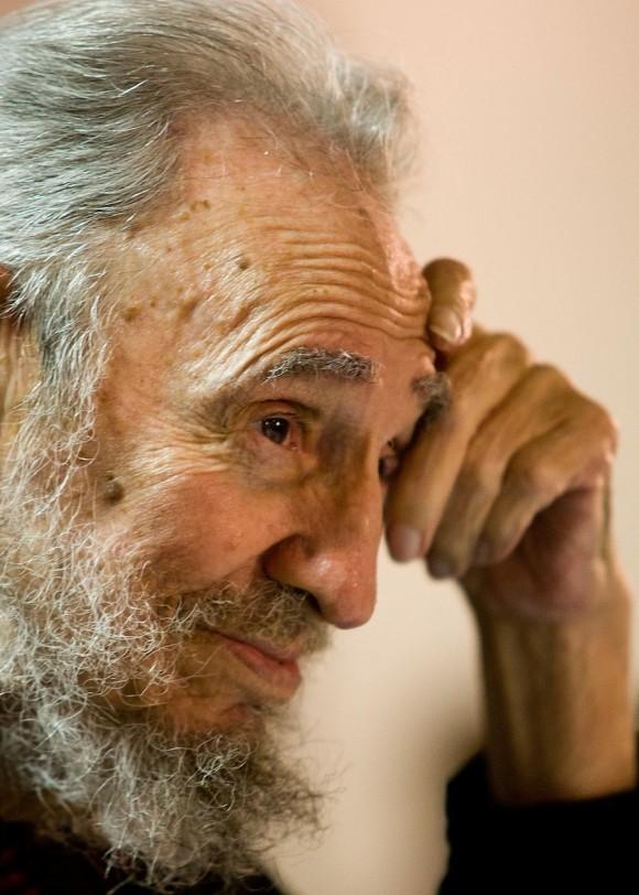 Fidel. Foto: Alex Castro