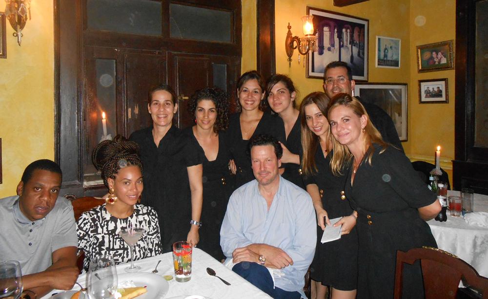 Beyoncé de visita en La Habana